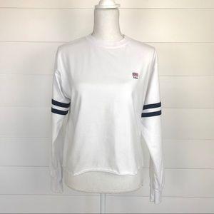 John Galt USA Cropped Sweatshirt